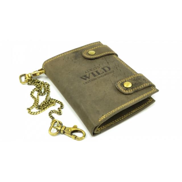 luxusní kožená peněženka WILD